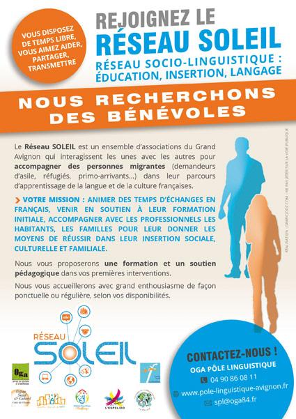 Pôle Linguistique Avignon recherche de bénévoles en socio-linguistique