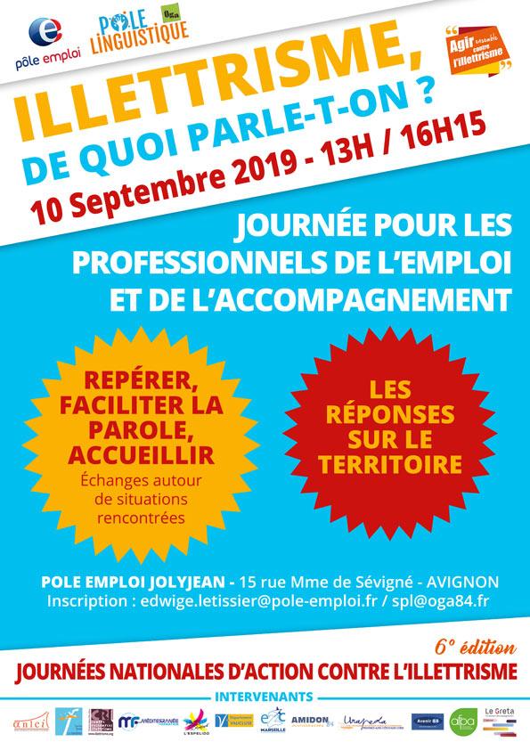 Pôle Linguistique Avignon Journées de Lutte contre L'Illettrisme