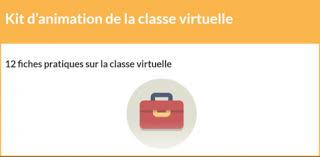 Kit d'animation de la classe virtuelle, Cavilam - Alliance Française