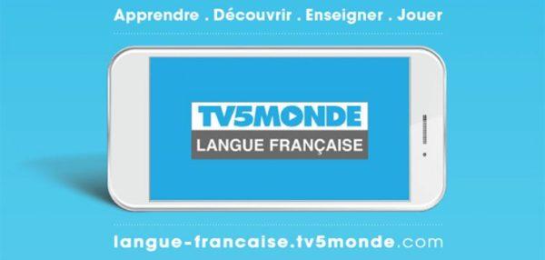 application tv5 apprendre le français